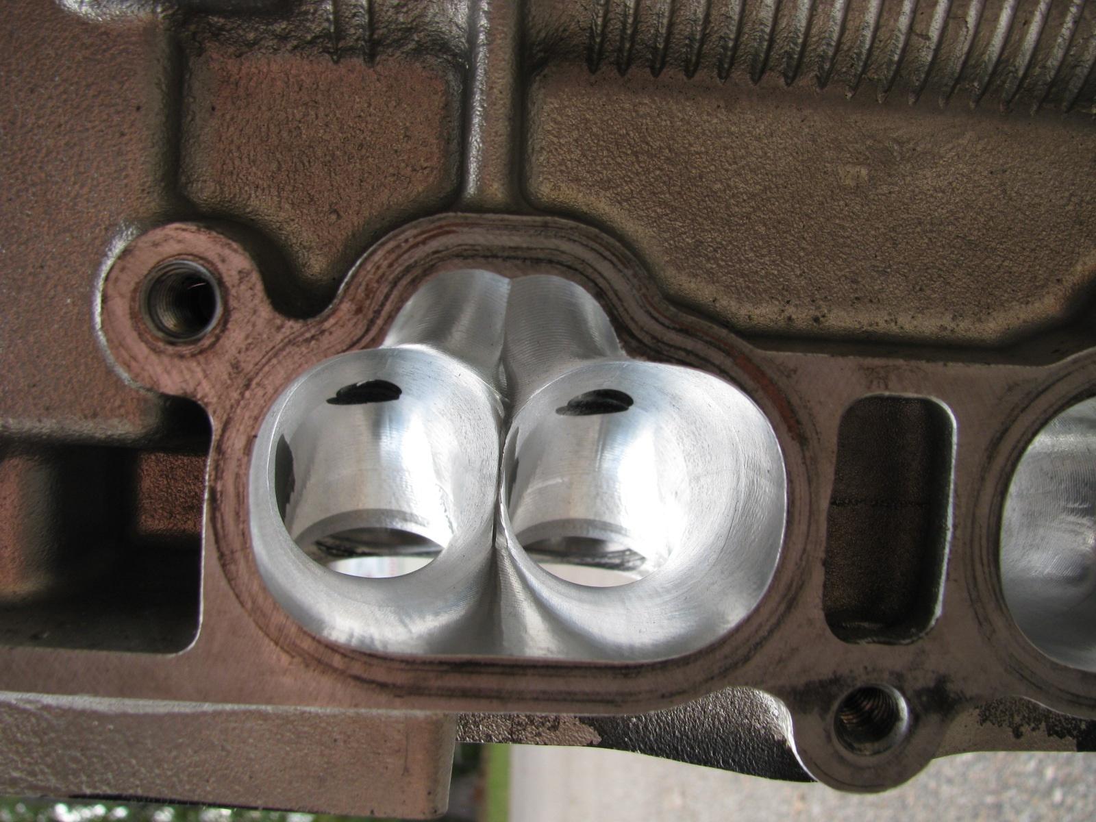 Cylinder Head Porting >> 2jz Gte Cnc Ported Cylinder Head 1mm 2mm